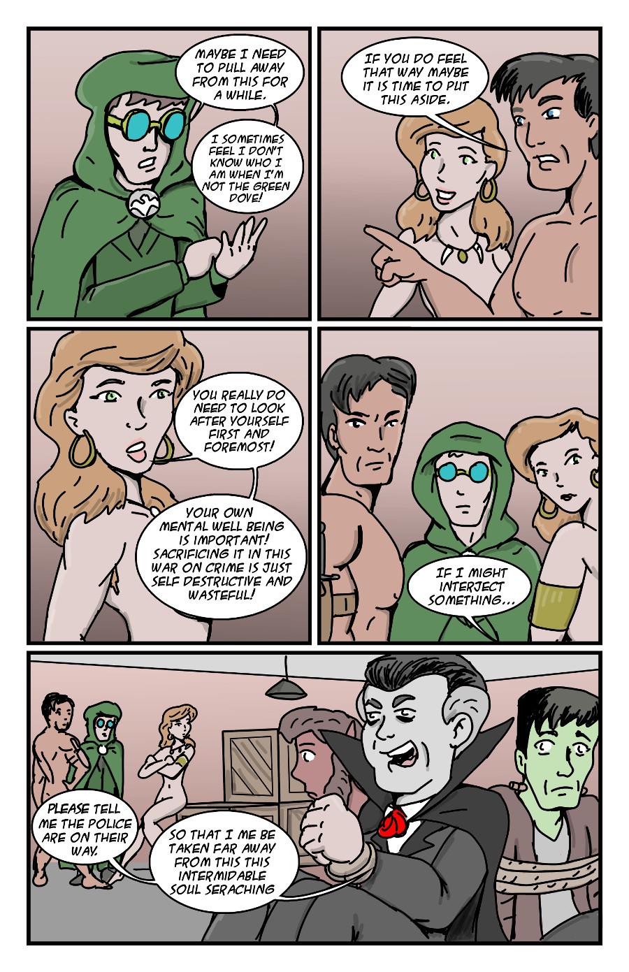 Halloween Exchange: Green Dove (5 of 5)