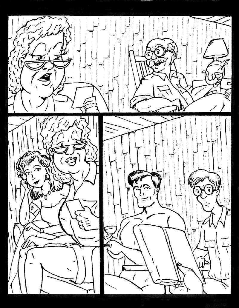 Unused Page: The Danger, The Diamond and the Dowager 01